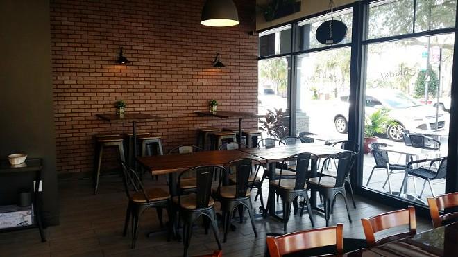 Tartine Wine Bar &  Eaterie's revamped interior - FAIYAZ KARA