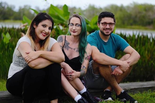 L-R: Nikki Namdar, Bex Larsen, Jeremy Joseph