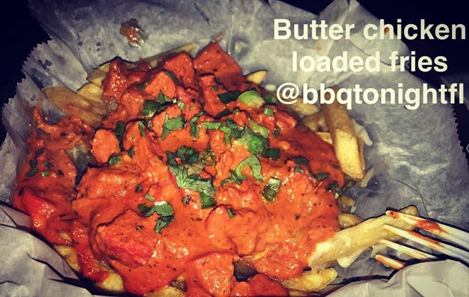 BUTTER CHICKEN FRIES / IMAGE COURTESY OF BBQ TONIGHT
