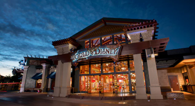 The World of Disney shop at Disney Springs - IMAGE VIA DISNEY
