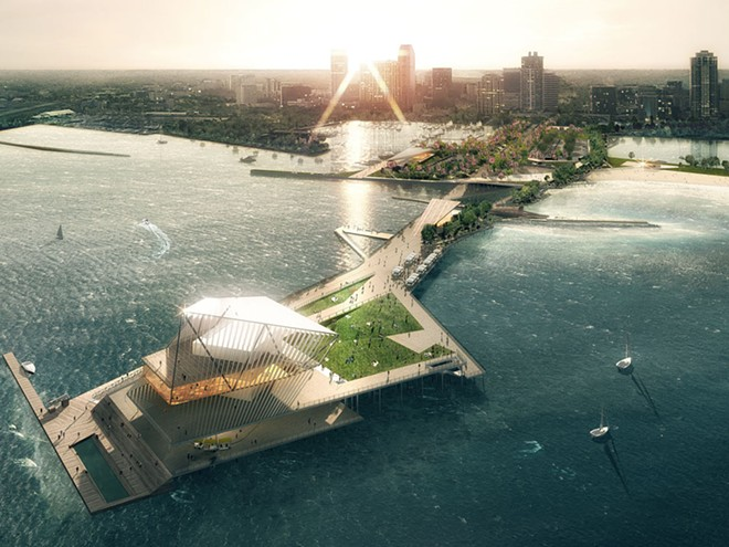 PIER PARK PROPOSAL FOR ST. PETE'S PIER | IMAGE VIA CITY OF ST. PETERSBURG, FLORIDA