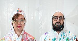 Married art collaborators Elizabeth/Sidebotham fight back with sweetness