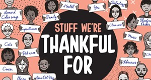 Here's the real stuff we're thankful for in 2018