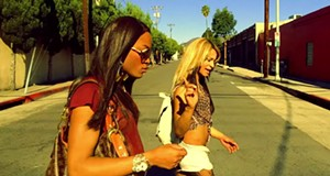 <i>Tangerine</i>, a lively comedy about two transgender prostitutes and their runaway dreams, is darkly funny