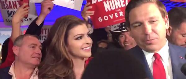 Photographers spot Giuliani associate Lev Parnas at election-night party for Florida Gov. Ron DeSantis