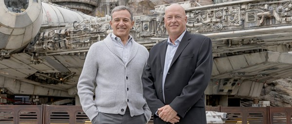 Walt Disney Company theme parks chief Bob Chapek named new CEO, but Iger remains in charge