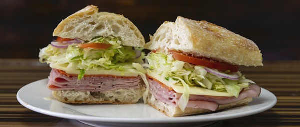 Manzano's Deli in Winter Park serves sandwiches that are as meaty as they are enormous