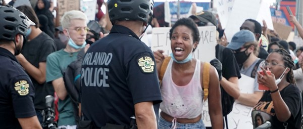 Photos of Orlando protesters demanding 'Justice for George Floyd'