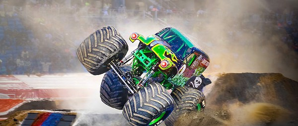 Monster Jam returns to Orlando's Camping World Stadium in February