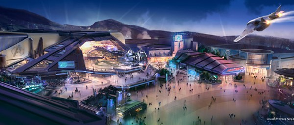 Disney is finally getting ready to go all-in on Marvel attractions at their theme parks