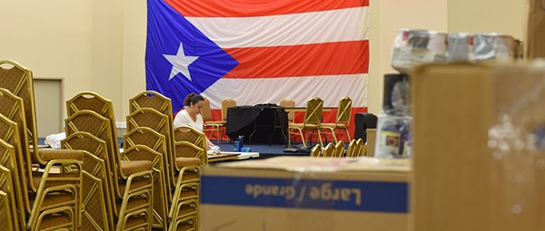 Orlando's Puerto Rican community gathers donations for hurricane relief