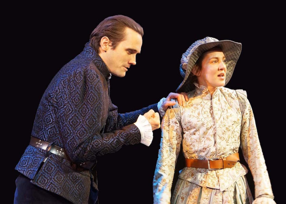John P. Keller and Susan Maris in 'Shakespeare in Love'