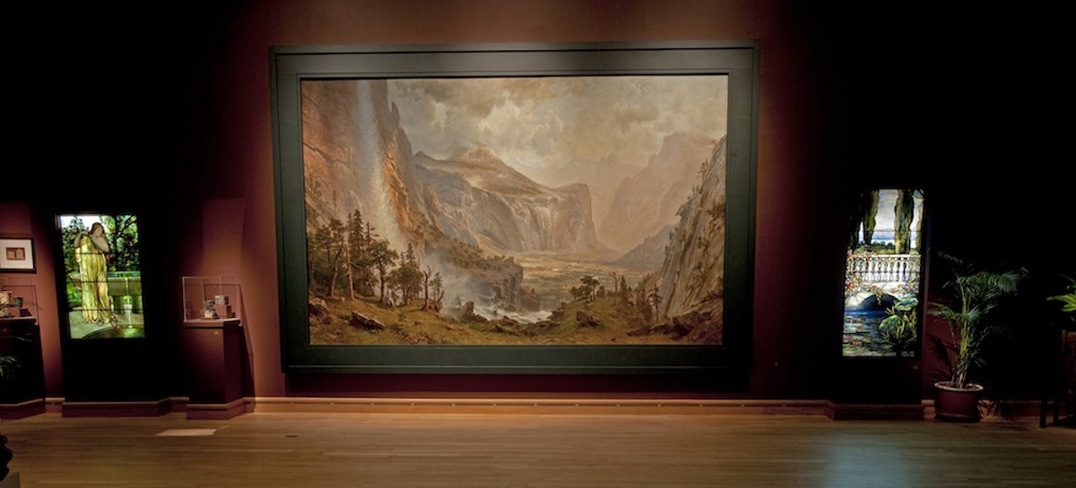 'The Domes of the Yosemite' (1867) by Albert Bierstadt