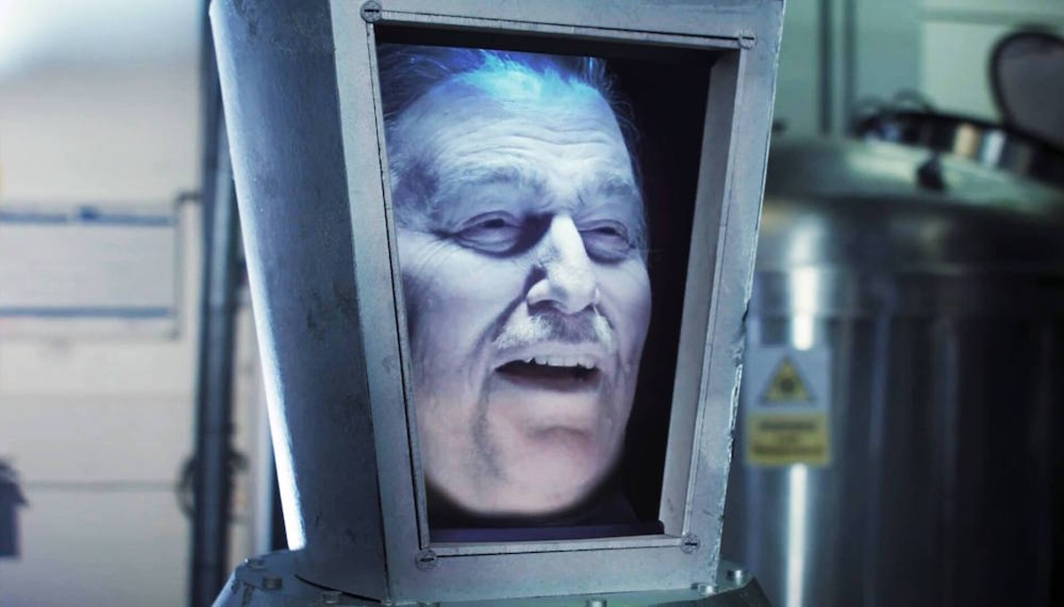 Ron Schneider as 'Walt's Frozen Head'