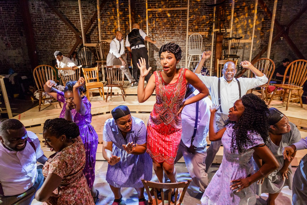 The Color Purple At Theater West End