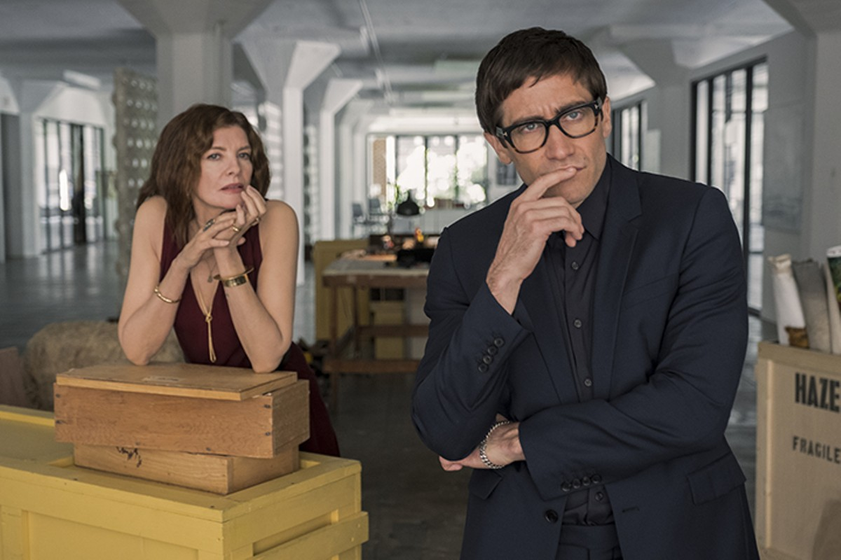 Rene Russo and Jake Gyllenhaal in Velvet Buzzsaw.