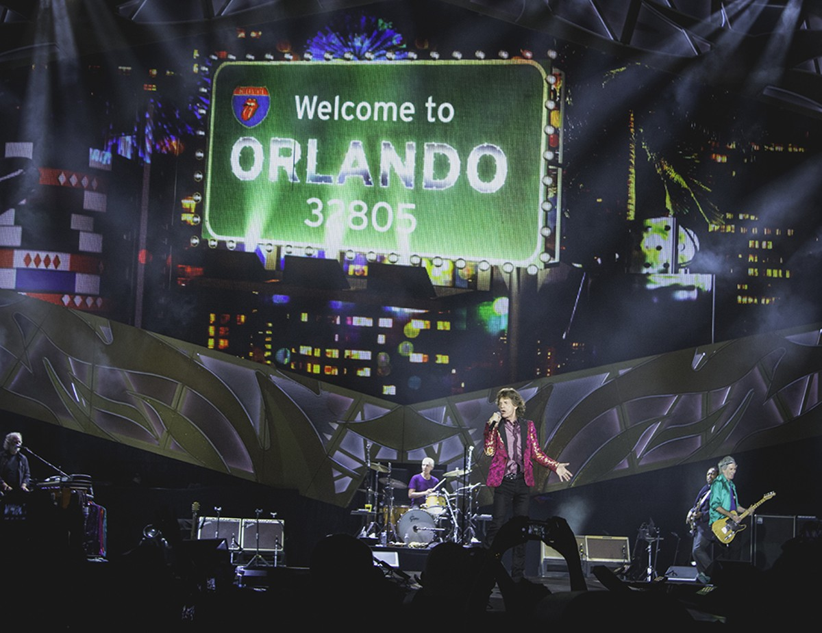 Wildest photos from the Rolling Stones at the Orlando Citrus Bowl