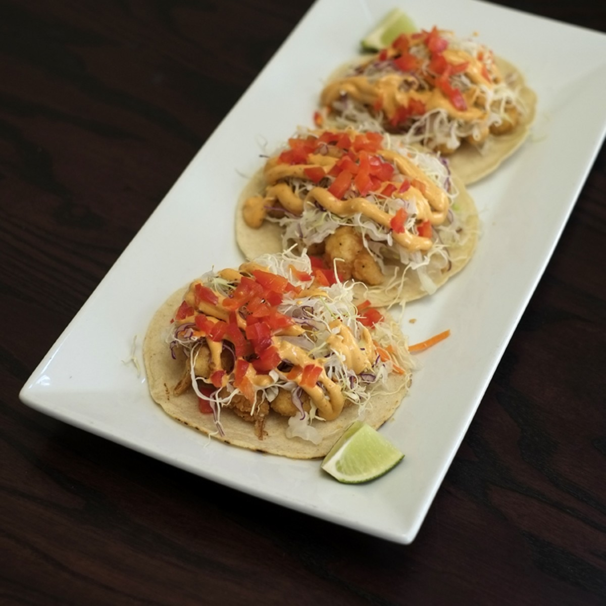 Cauli-frito tacos at Cocina 214 (photo via Cocina 214)