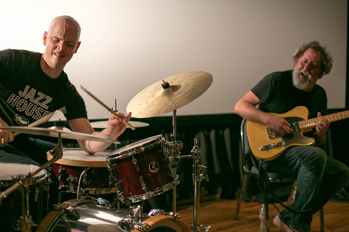 Chris Corsano and Bill Orcutt
