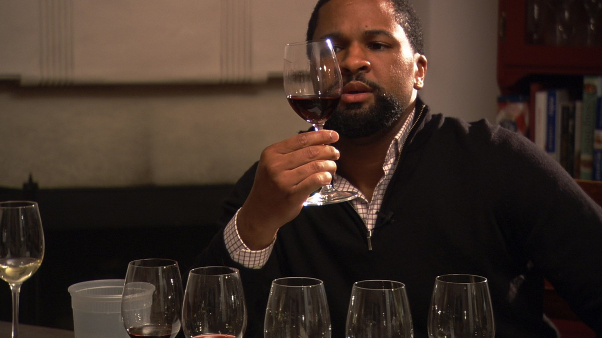 Sommelier DLynn Proctor, seen here in the documentary 'SOMM,' hosts a wine dinner at Del Frisco's Double Eagle Steakhouse Jan. 21