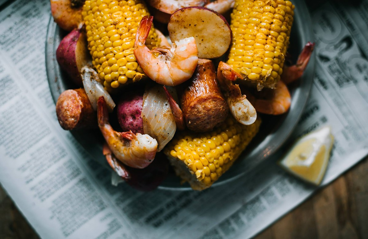 The Coop's Low Country Boil is 11 a.m.-9 p.m. Saturday, March 19.