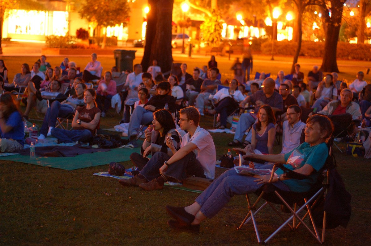 Popcorn Flicks In the Park