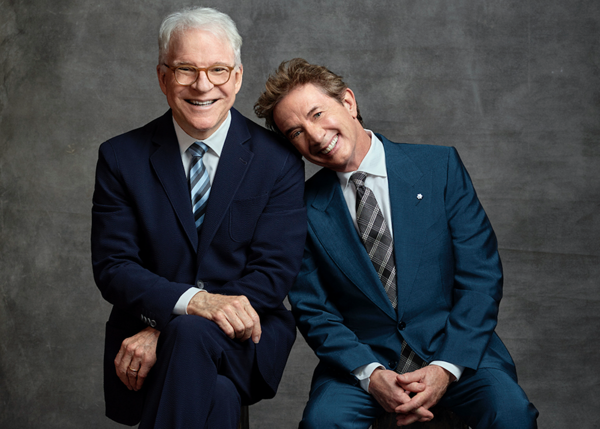 Steve Martin, left, and Martin Short, right.