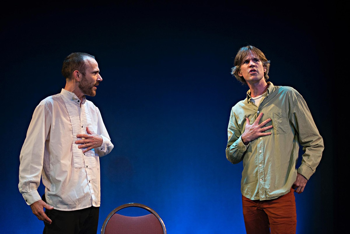"Martin Dockery and Jon Paterson in ""Inescapable"""