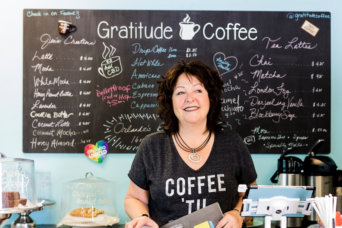 Jen Hackney of Gratitude Coffee