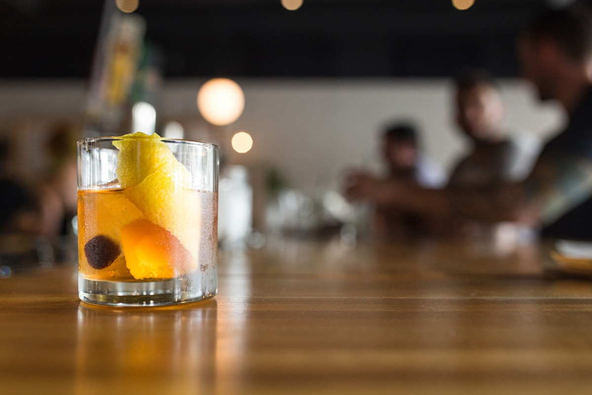 An Old-Fashioned at the Guesthouse