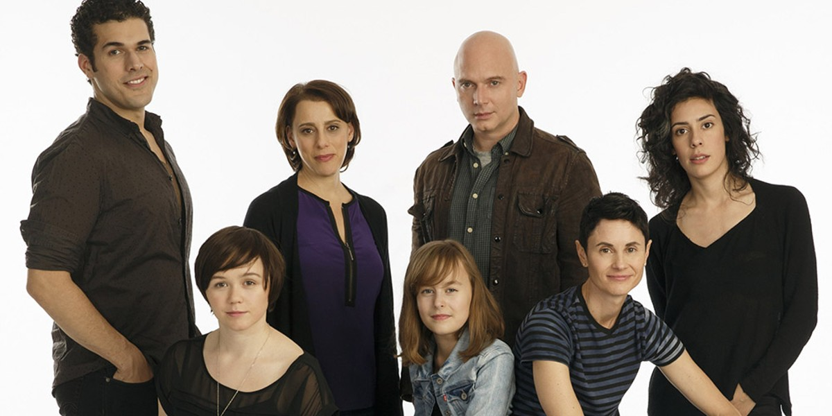 The Broadway cast of Fun Home