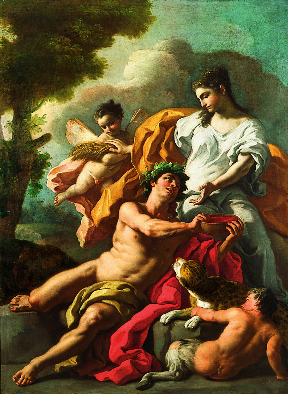 """Bacchus and Ceres"""