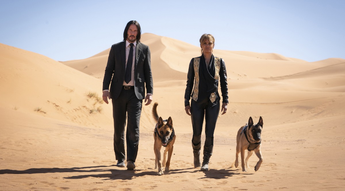 Keanu Reeves and Halle Berry in 'John Wick: Chapter 3 – Parabellum'