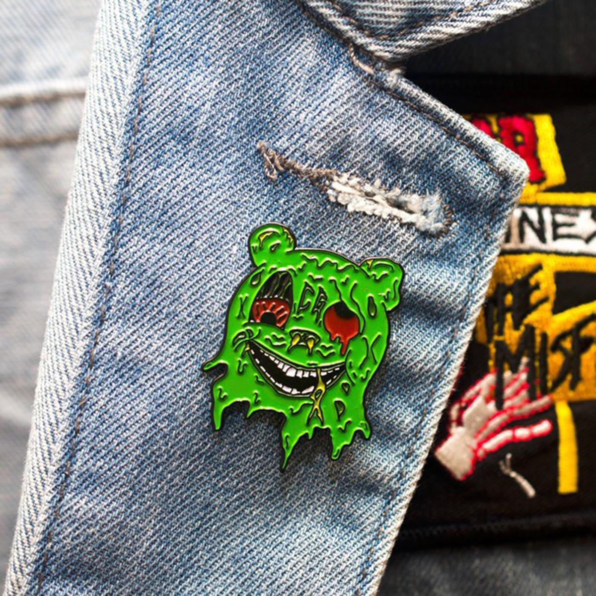 Mutant Gummy Bear pin by Crummy Gummy