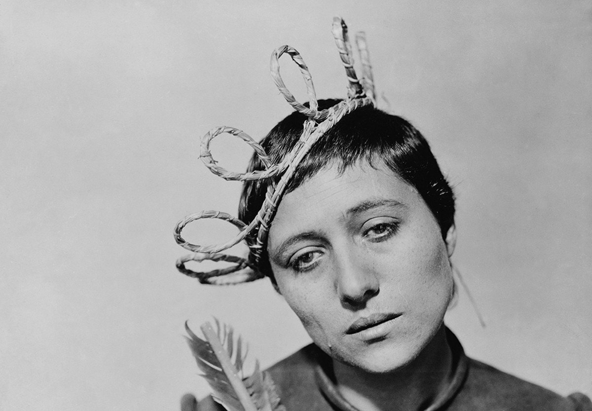 Still of Renee Falconetti in 'The Passion of Joan of Arc,' 1928.