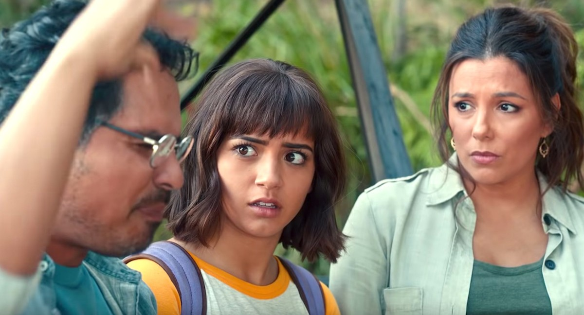 'Dora And The Lost City Of Gold' stars Michael Peña, Isabela Moner, and Eva Longoria