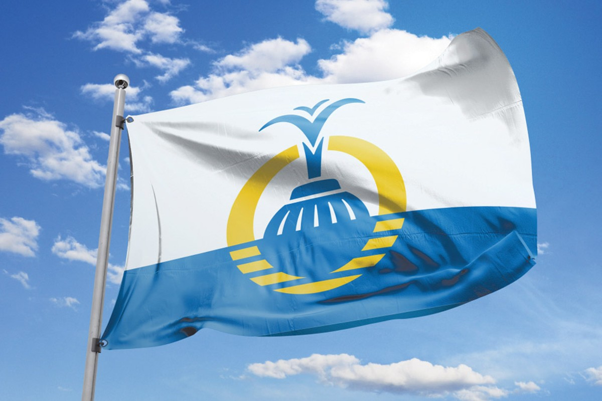 Orlando's new official flag, adopted July 24, 2017