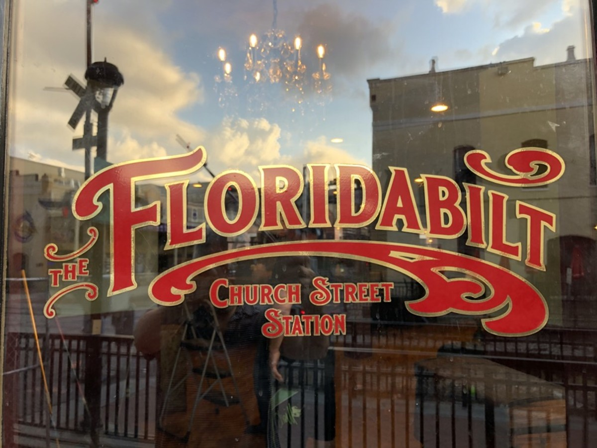 The Floridabilt opens soon in the Church Street Rail Depot