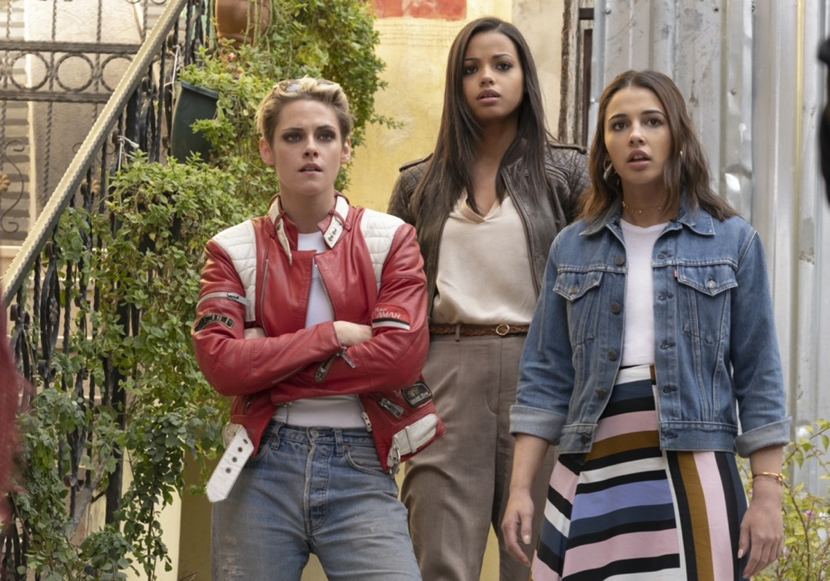 Kristen Stewart, Ella Balinska and Naomi Scott in 'Charlie's Angels'