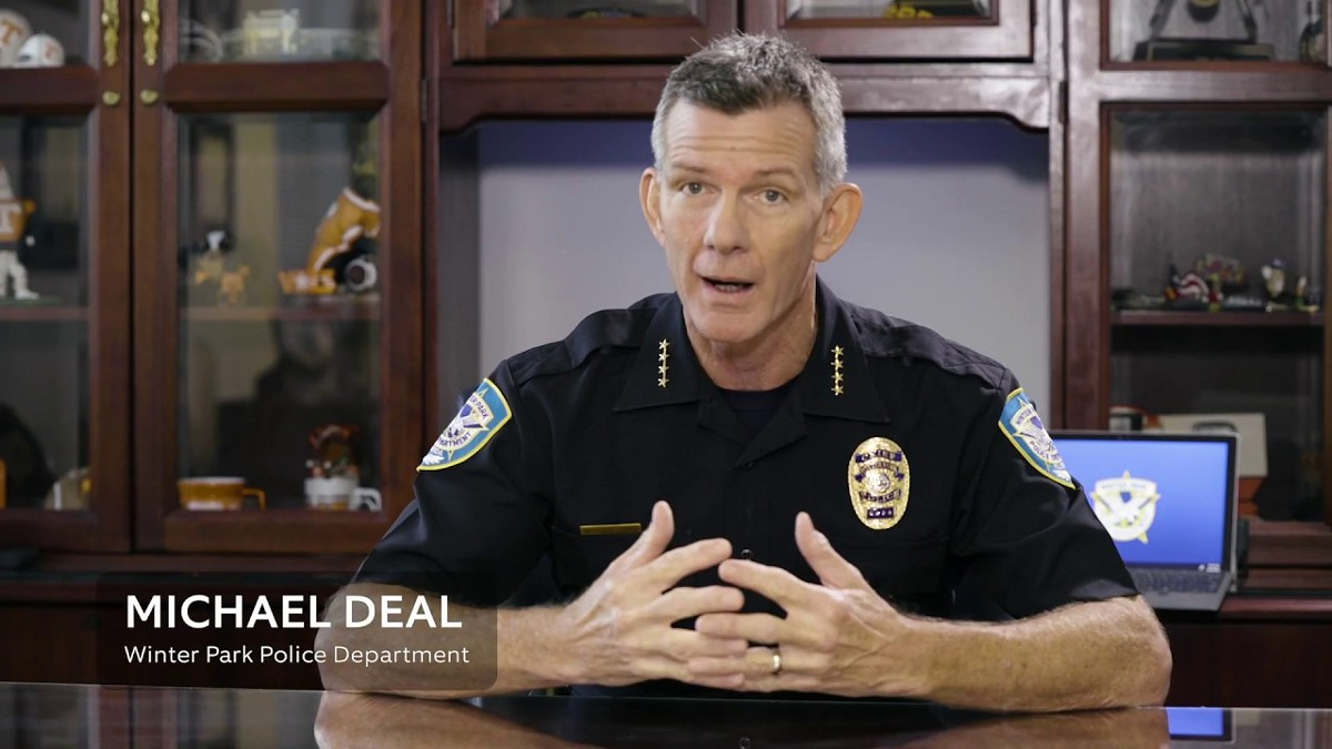 "Winter Park Police Chief Michael Deal, whose department participated in a promotional video with Ring about law enforcement partnerships, says he has ""no concerns"" about the Ring deal going forward."