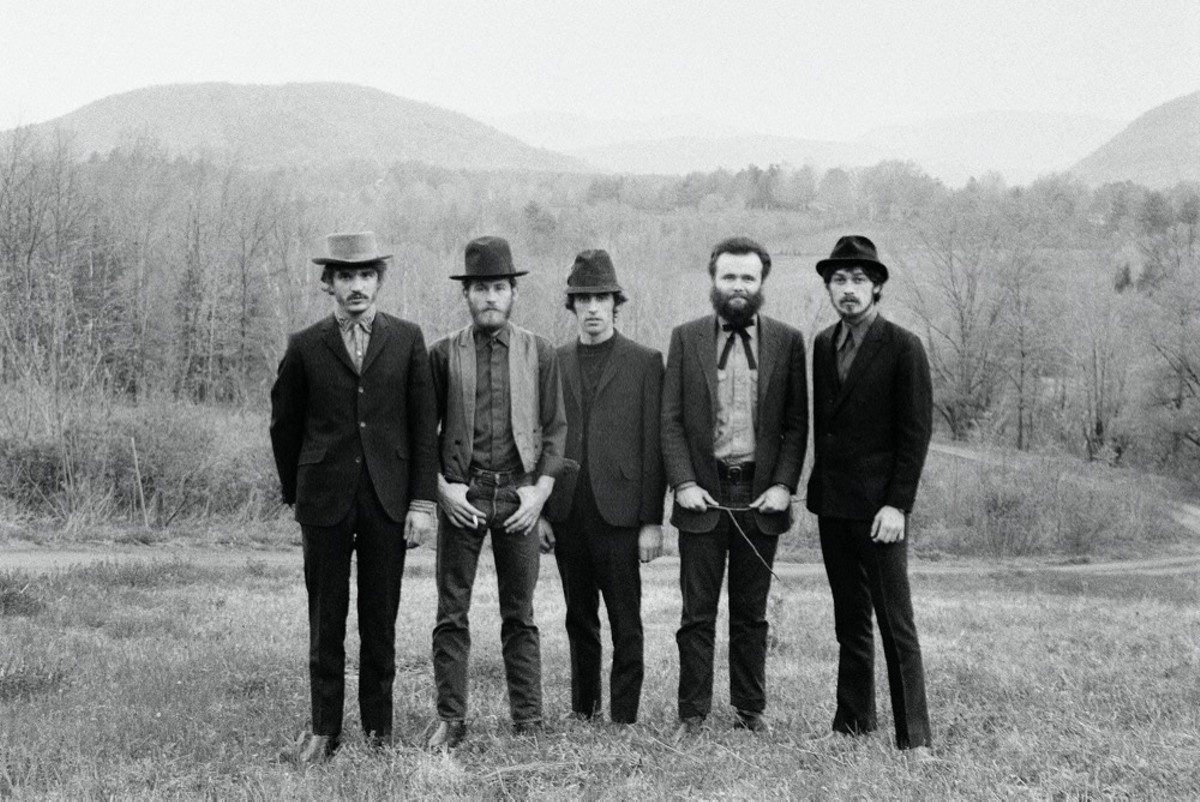 Rick Danko, Levon Helm, Richard Manuel, Garth Hudson and Robbie Robertson in Once Were Brothers: Robbie Robertson and The Band