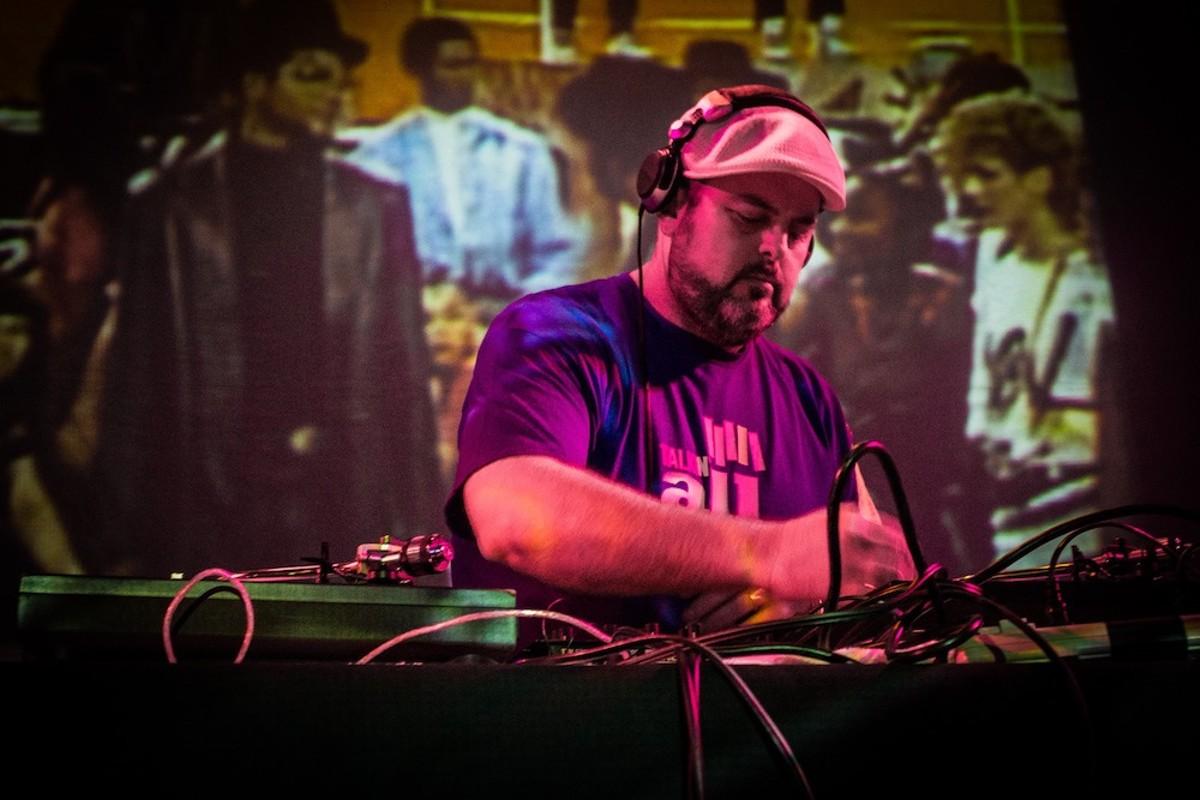 Greg Lentz, aka DJ BMF.
