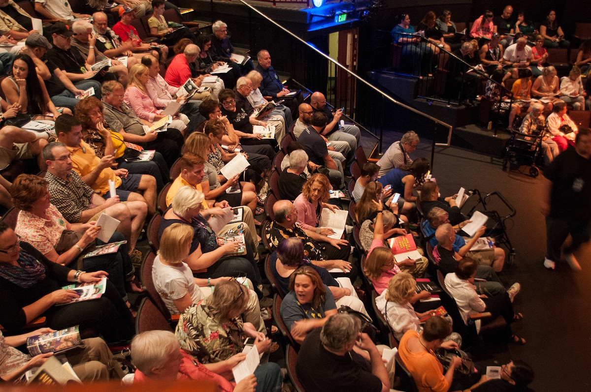 HAPPIER TIMES: A full house at last year's Orlando Fringe
