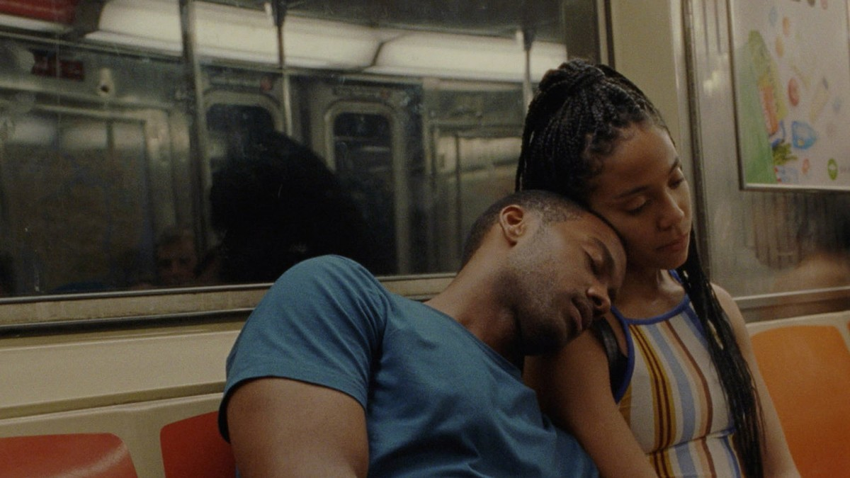 Rashaad Ernesto Green and Zora Howard in 'Premature'