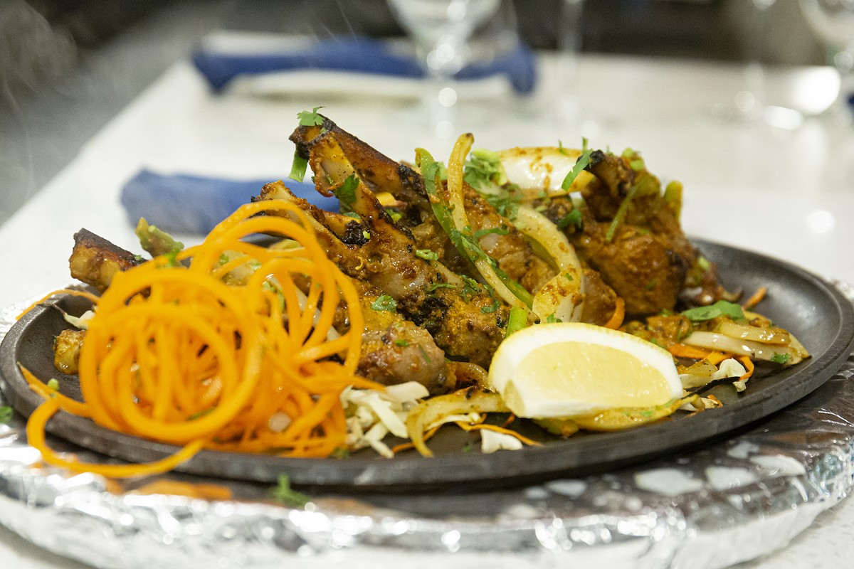 Tandoori lamb chops at Tabla Winter Park
