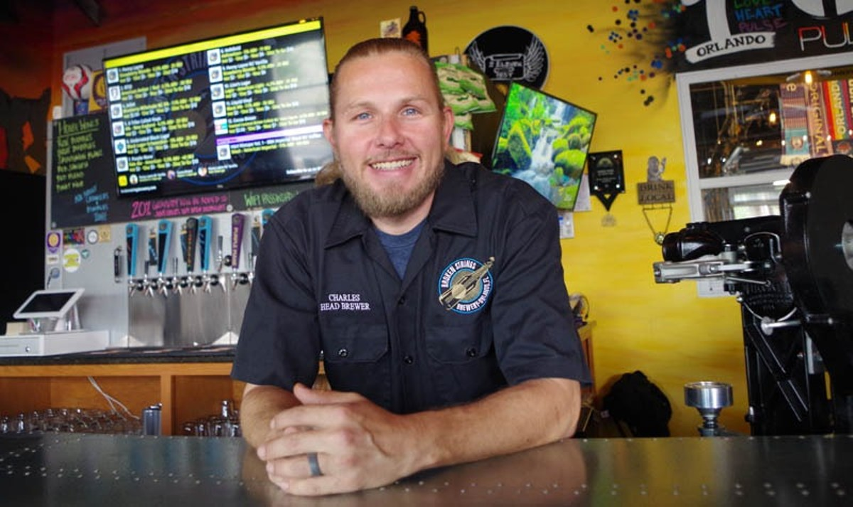 Charles Frizzell of Broken Strings Brewery