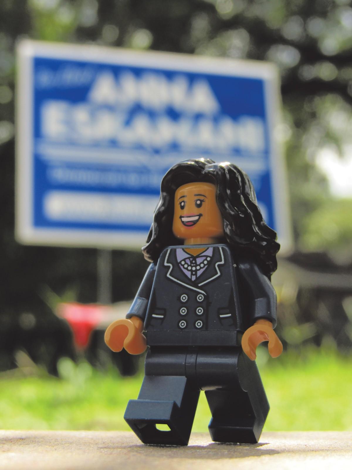 Onward with Anna!