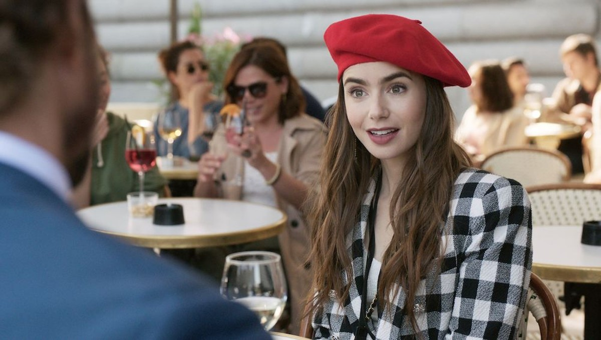Lily Collins in 'Emily in Paris'