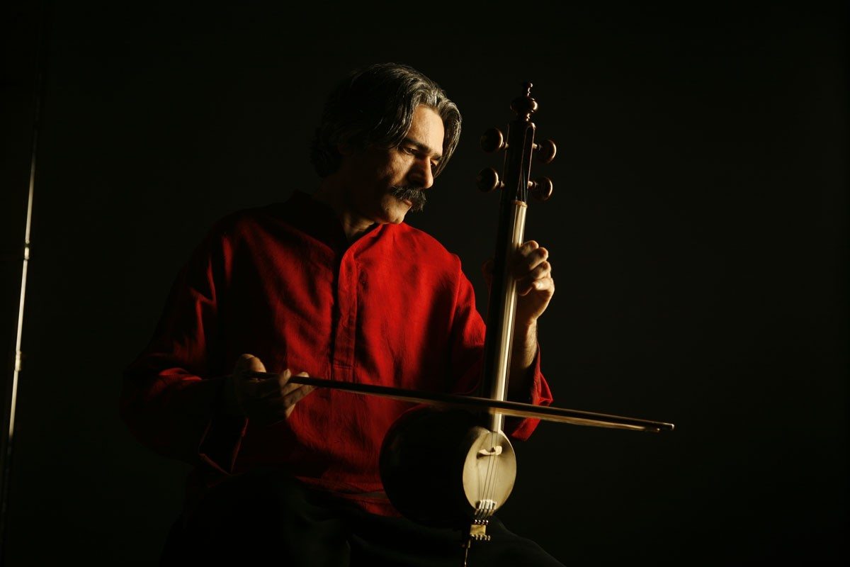 Kayhan Kalhor, Iranian composer and master of the kamancheh (Persian spiked fiddle)