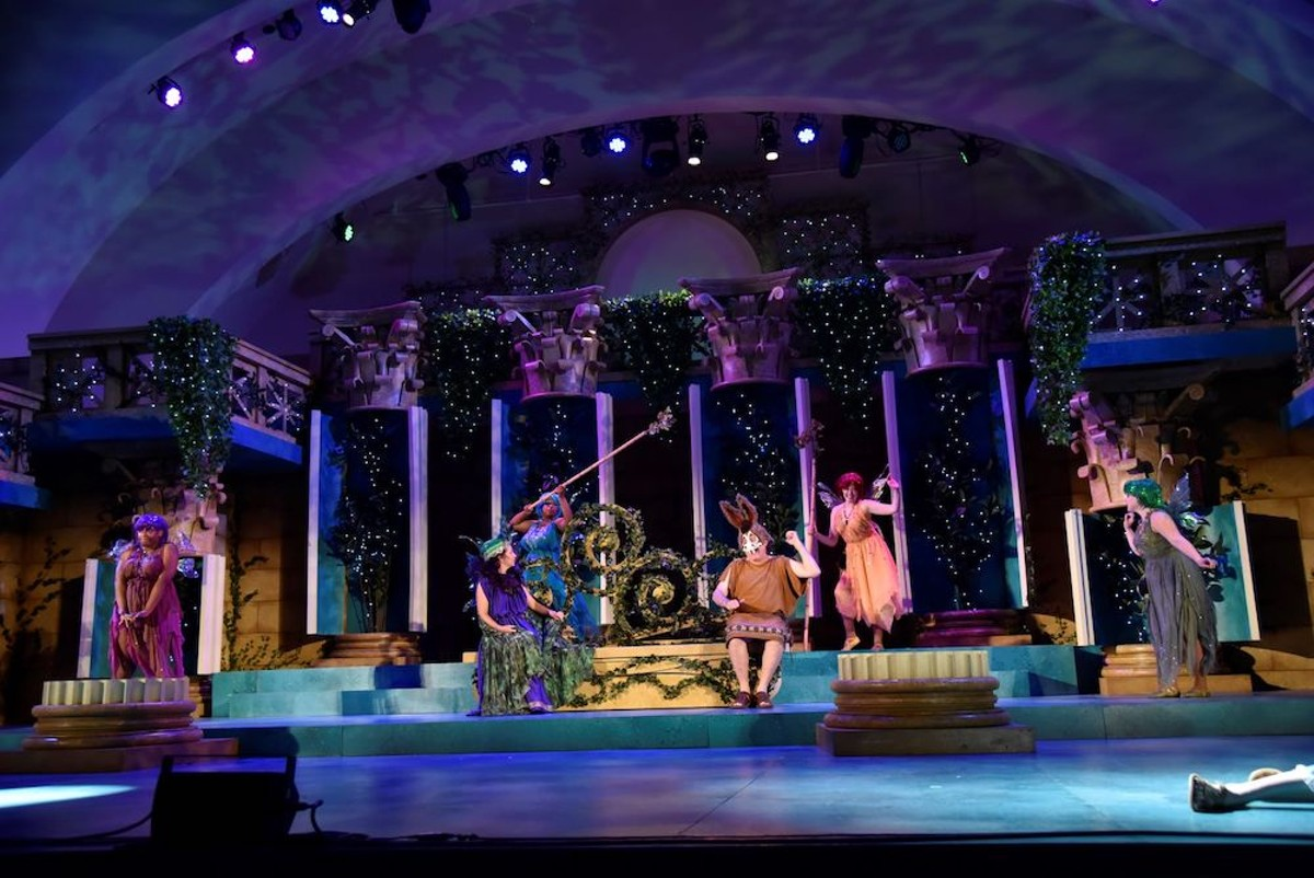Orlando Shakes presents 'A Midsummer Night's Dream' in the Walt Disney Amphitheater at Lake Eola